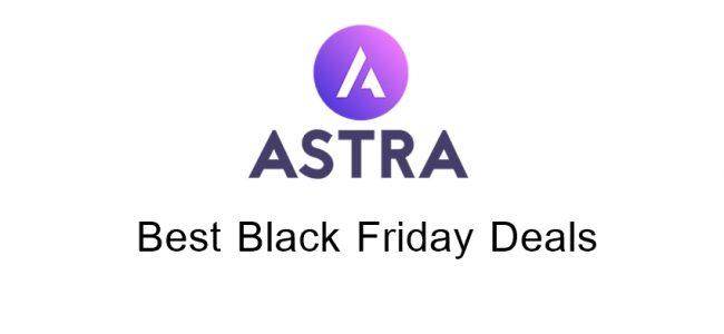 Astra Theme Black Friday