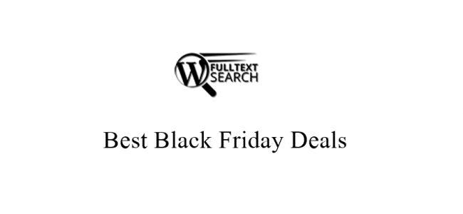 FullText Search Black Friday
