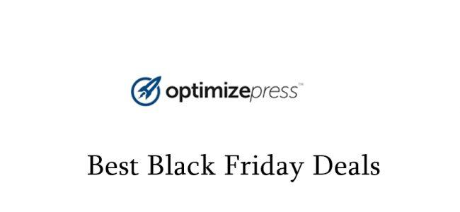 OptimizePress Black Friday