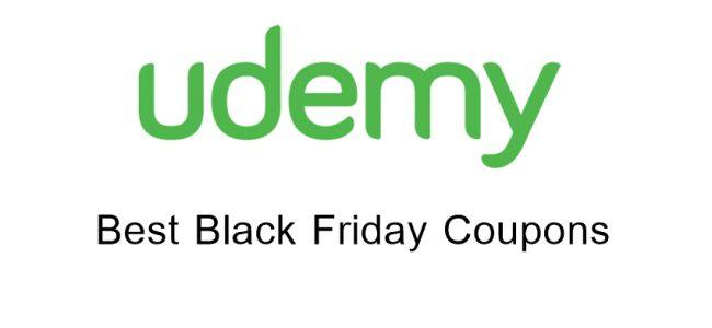 Udemy Black Friday coupon