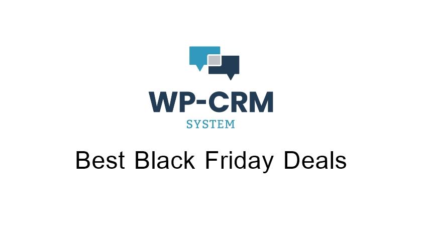 WP CRM Black Friday