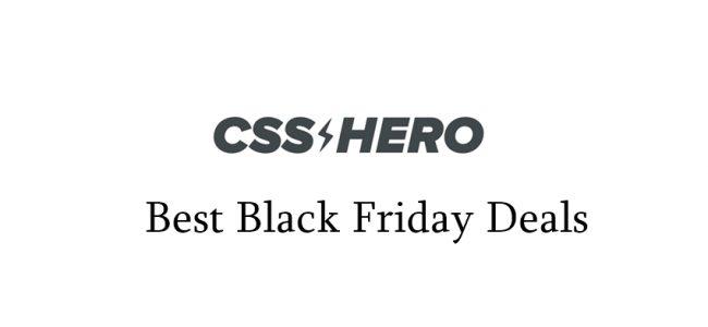 css hero black friday